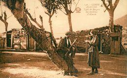 Ajaccio  Types De Bergers Des Environs D'Ajaccio  Cpa - Ajaccio