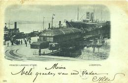 MERSEYSIDE - PRINCES LANDING STAGE 1900 Me793 - Liverpool