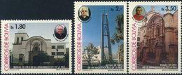 Bolivia 1994  CEFIBOL 1520-22 ** Bodas De Oro Arquidiocesis De La Paz. See. - Bolivia