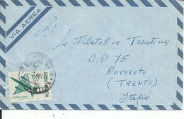 ARG011 - ARGENTINA - LETTERA AEREA DA LA PLATA A ROVERETO 1970 - N. 120A CAT. YVERT - Argentina