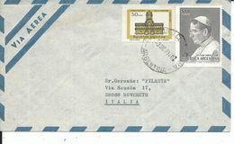 ARG013 - ARGENTINA - LETTERA AEREA DA BUENOS AIRES A ROVERETO 1979 - N. 1147+1196 CAT. YVERT - Argentina