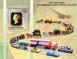 GUINEA BISSAU 2005 - Black Penny, Racing Car - YT BF288 - Automobile
