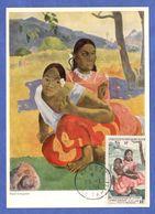 Maximum, Gauguin, PA 30, 50° Anniversaire De La Mort De Gauguin  -  (MESS1-4.2) - Cartas