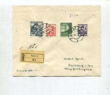Deutsches Reich / 1938 / Int. MiF Oesterr./D.Reich A. Reco-Bf. Ex Linz (4/189) - Deutschland