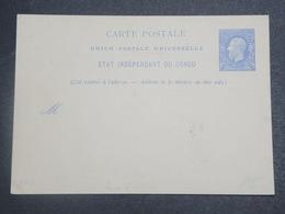 CONGO BELGE - Entier Postal Non Utilisé - L 15136 - Entiers Postaux