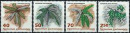 Liechtenstein 1992 - Ferns ( Mi 1015 - YT 986/89 ) MNH** Complete Series - Liechtenstein
