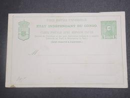 CONGO BELGE - Entier Postal Non Utilisé - L 15140 - Entiers Postaux