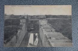 Komen Comines   Pk Cpa Ecluses Canal Ypres - Comines-Warneton - Komen-Waasten