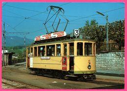 Tramways De Neuchâtel - Motrice électrique Ce 2-2 78 En Juin 1972 à Courcelles - PUB SUZE - WOLFGANG WALPER - 1972 - NE Neuchatel