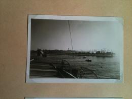 Photo - Bénin Dahomey 1953 - Cotonou, Le Wharf, Escale Du Paquebot Le Foch Juin 1953 - Africa