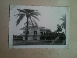 Photo - Cameroun 1953 - Douala, Case De L'Aviation Civite, Route De L'Aviation - Africa
