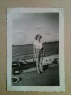 Photo - Cameroun 1953 - A Bord Du Bac Allant De Bonabéri à Douala - Africa