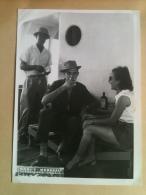 Photo - Cameroun 1953 - Européens à Bord Du Bâteau Le Paul Leferme, Maguy Merckel - Africa