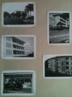 Photo - Cameroun 1953 - Douala,  Photographies De L'Immeuble Hersent Et Automobiles Garées Sous L'immeuble - Africa