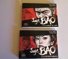 Lot De 2 BD Juge BAO + 2 Dédicaces De Pactrick Marty - Books, Magazines, Comics