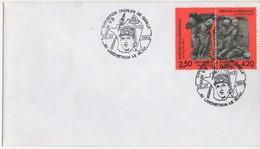 OBLITERATION TEMPORAIRE LANDRETHUN 06/07/1993  GENERAL DE GAULLE - BASE FUSEE V3 - De Gaulle (General)