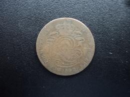 BELGIQUE : 2 CENTIMES  1862  KM 4.2    B+ - 1831-1865: Léopold I