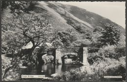 Fingle Bridge, Drewsteignton, Dartmoor, Devon, C.1950 - Chapman RP Postcard - England