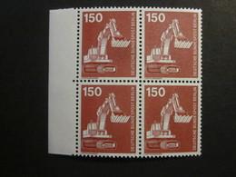 Berlin Nr. 584 Viererblock Rand Postfrisch**  (B21) - Ungebraucht