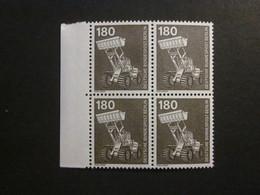 Berlin Nr. 585 Viererblock Rand Postfrisch**  (B21) - [5] Berlin