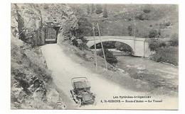 St-Girons - Route D'Aulus - Le Tunnel - Les Pyrénées Ariégeoises - Véhicule (celui Du Photographe ?) - Saint Girons