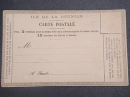 RÉUNION - Carte Précurseur De La Réunion Non Utilisé - L 15155 - Réunion (1852-1975)