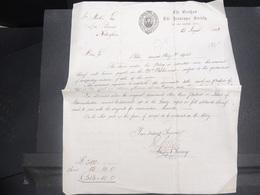 VIEUX PAPIERS  - GRANDE BRETAGNE - Papier D 'Assurance De Nottingham  En 1873 - L 15158 - Collections