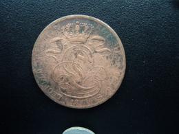 BELGIQUE : 5 CENTIMES  1848  KM 5.? (signature Illisible)  B+ - 1831-1865: Léopold I