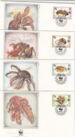 FDC WWF British Indian Ocean Terrirory / 05-03-1993 - FDC