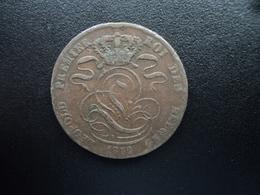 BELGIQUE : 5 CENTIMES  1852  KM 5.? (signature Illisible)  Ensemble TTB - 1831-1865: Léopold I