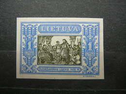 Lietuva Litauen Lituanie Litouwen Lithuania 1932 Lithuanian Child * MH # Mi. 338B - Lituanie