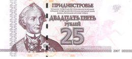 Transnistria - Pick 45a - 25 Rublei 2007 - Unc - Banconote
