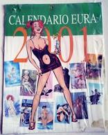 EURO CALENDARIO  2001- SIGILLATO ORIGINE (230318) - Calendars