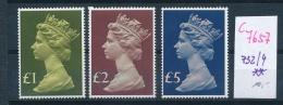 UK  Nr. 732-4 **   (c7657  ) Siehe Scan - 1952-.... (Elizabeth II)
