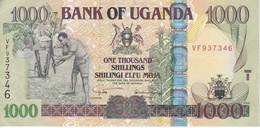 BILLETE DE UGANDA DE 1000 SHILLINGS DEL AÑO 2005 EN CALIDAD EBC (XF)  (BANKNOTE) - Uganda