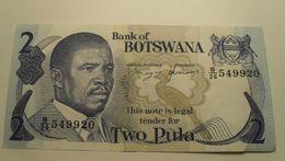 1982 ND - Botswana - 2 PULA - B/26 549920 - Botswana