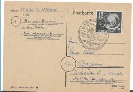 DDR236 / Mi.Nr. 245 Mit Entwertung Vom Ersttag 30.10.49 Gründungskonferenz WGB - Briefe U. Dokumente