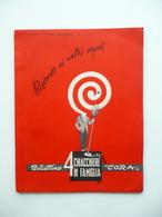 Cora Bollettino Agenti Di Vendita Anno 3 N. 28 Ottobre 1954 Logo Illustrato - Vieux Papiers