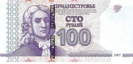 Transnistria - Pick 47b - 100 Rublei 2007 - 2012 - Unc - Banconote