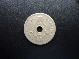 BELGIQUE : 5 CENTIMES  1904  KM 54   TTB - 1865-1909: Leopold II