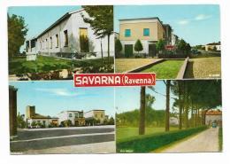 SAVARNA ( RAVENNA ) VEDUTE - VIAGGIATA FG - Ravenna