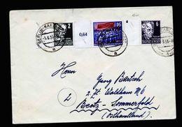 A5272) DDR Brief Berlin-Karlshorst 5.6.53 Mit Mi.347 Ua. - Briefe U. Dokumente
