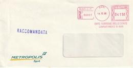 ENTE FERROVIE DELLO STATO - METROPOLIS - Anno 1995 - Machine Stamps (ATM)