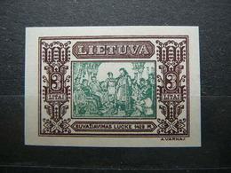 Lietuva Litauen Lituanie Litouwen Lithuania 1932 Lithuanian Child * MH # Mi. 339B - Lithuania