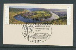 GERMANY  Mi.Nr. 3241-3242  Moselschleife Bei Kröv  - ESST Bonn - Used - Used Stamps