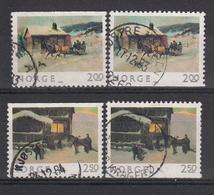 NOORWEGEN - Michel - 1983 - Nr 894/95 Do/Du - Gest/Obl/Us - Norway