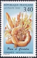 FRANCE, 1992, Céréales Et Pains (Yvert 2757 ) - Sheetlets