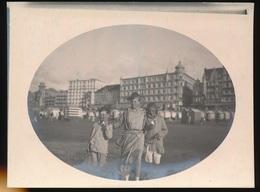 FOTO AAN ONZE KUST  - 12 X 9 CM - Oostende