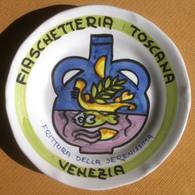 Piatto Buon Ricordo - Venezia - Fiaschetteria - Frittura - S1999 - Obj. 'Remember Of'