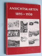 ANSICHTSKARTEN 1895 - 1930 ( Autor Kurt Käppeli Wädenswil Suisse ) 1979 ( 15 X 21 Cm. - 280 Gr. ) SCHWEIZER ! - Livres